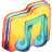 Yellow Music 2 Icon
