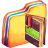Yellow Notebook Icon
