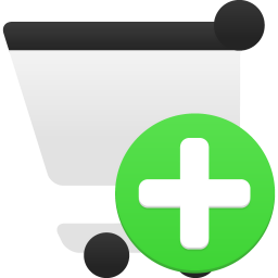 Shopping Cart Add Icon 256x256 png