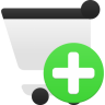 Shopping Cart Add Icon 96x96 png