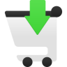Shopping Cart Insert Icon 96x96 png