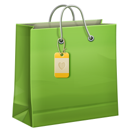 Shopping Bag Icon 256x256 png