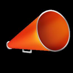 Bullhorn Icon 256x256 png