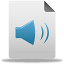 Audio File Icon 64x64 png