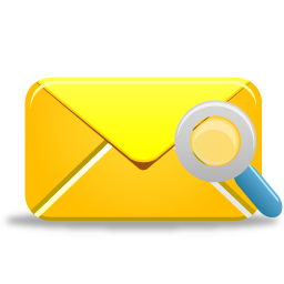 Mail Search Icon 256x256 png