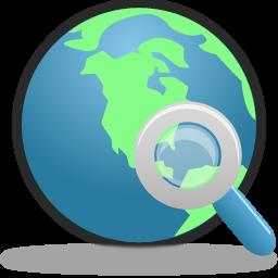 Search Globe Icon 256x256 png