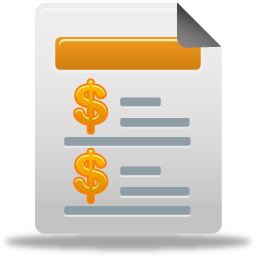 Sales Report Icon 256x256 png