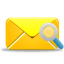 Mail Search Icon 64x64 png
