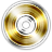 DVD Gold+R Icon