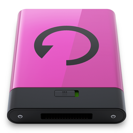 Pink Backup B Icon 512x512 png