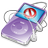 iPod Video Violet No Disconect Icon