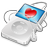 iPod Video White Apple Icon