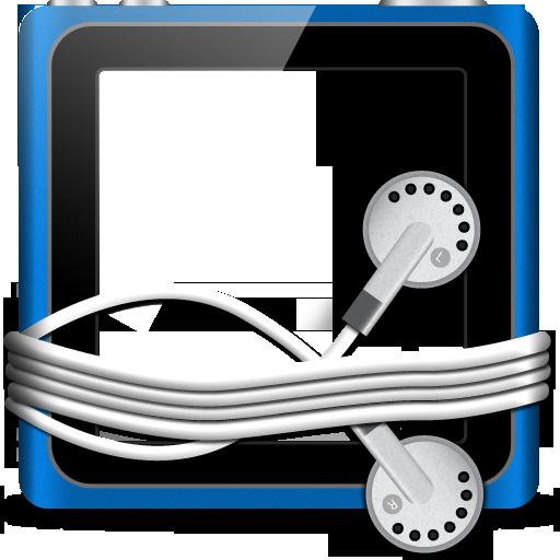 Blank Tunes Folder Icon 512x512 png