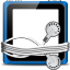 Blank Tunes Folder Icon 64x64 png