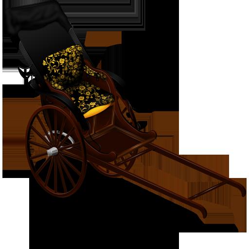 Jinrikisha Icon 512x512 png