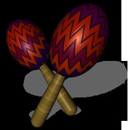 Maraca Icon - Mexican Icons - SoftIcons.com