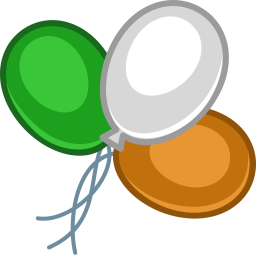 Color Baloons Icon 256x256 png