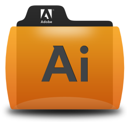 Illustrator Folder Icon 256x256 png