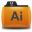 Illustrator Folder Icon 32x32 png