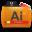 Illustrator Tutorials Folder Icon 32x32 png