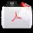 Acrobat File Types Folder Icon