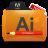 Illustrator Tutorials Folder Icon 48x48 png