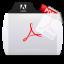 Acrobat File Types Folder Icon 64x64 png