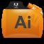 Illustrator File Types Folder Icon 64x64 png