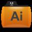 Illustrator Folder Icon 64x64 png
