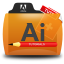 Illustrator Tutorials Folder Icon 64x64 png