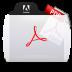 Acrobat File Types Folder Icon 72x72 png