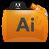 Illustrator File Types Folder Icon 72x72 png