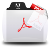 Acrobat File Types Folder Icon 96x96 png