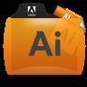 Illustrator File Types Folder Icon 96x96 png