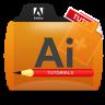 Illustrator Tutorials Folder Icon 96x96 png