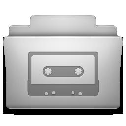 Folder Snowtape Icon 256x256 png