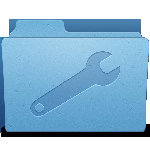 Utilities Folder Icon 512x512 png