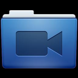 Videos Folder Icon 256x256 png