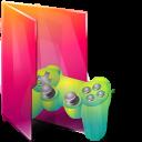 Aurora Folders Saved Games Icon