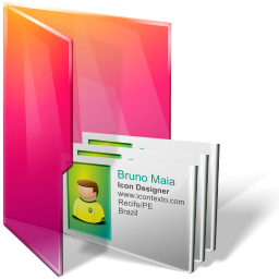 Aurora Folders Contacts Icon 256x256 png