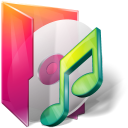 Aurora Folders Music Icon 256x256 png