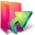 Aurora Folders Links Icon 32x32 png