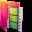 Aurora Folders Movies Icon 32x32 png