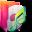 Aurora Folders Music Icon 32x32 png