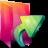 Aurora Folders Links Icon