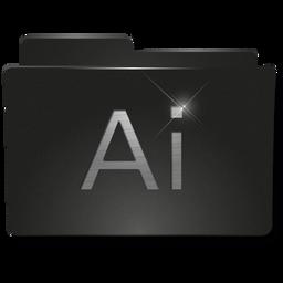 Folder Adobe Illustrator v2 Icon 256x256 png