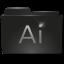Folder Adobe Illustrator v2 Icon 64x64 png