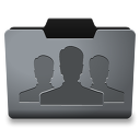 Steel Groups Icon 128x128 png