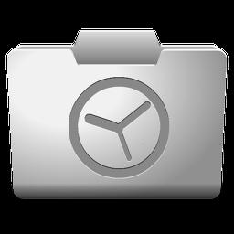 White History Icon Classy Folder Icons Softicons Com