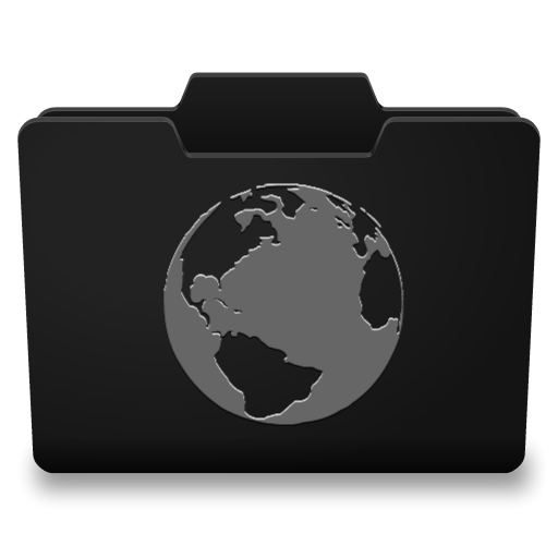 Black Grey Internet Icon 512x512 png